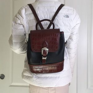 Brighton leather backpack
